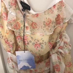 MAJORELLE Dresses - Majorelle Isabelle Midi Dress in Prairie Multi